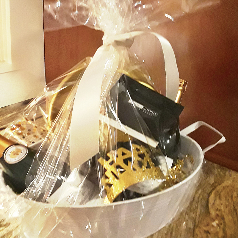 Our Gift Basket for WARM