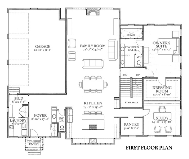 First Floor Plan More