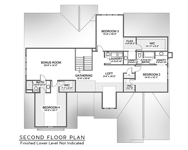 Review The Lilly First Floor Master Suite Floorplans