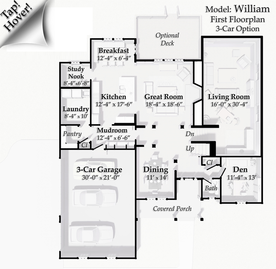 3-Car 1st Floor