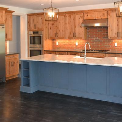 Custom Rose Kitchen (Rustic)
