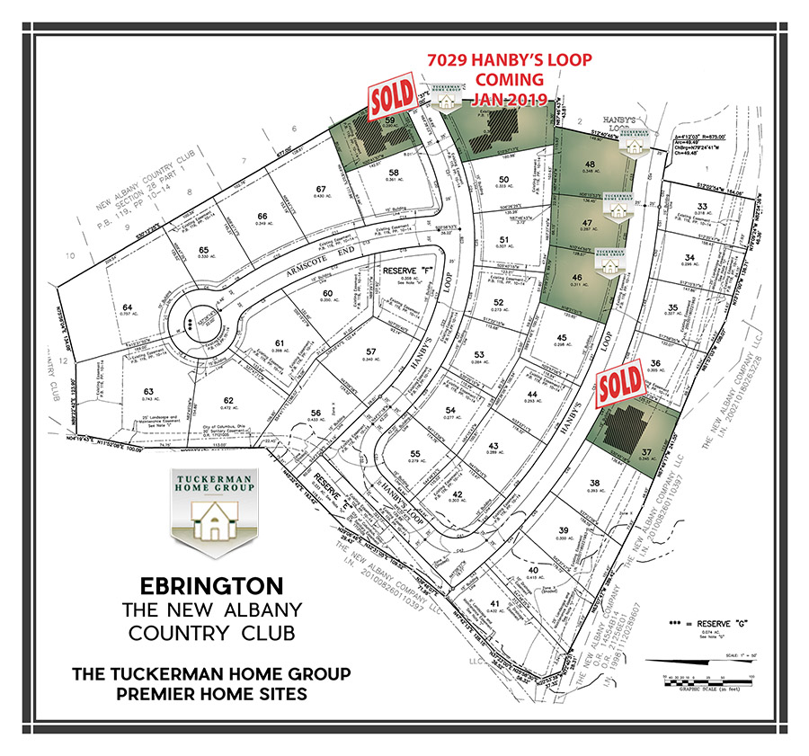 Ebrington is a Neighborhood in New Albany Country Club
