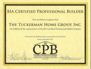 Certified Professional Builder Certificate